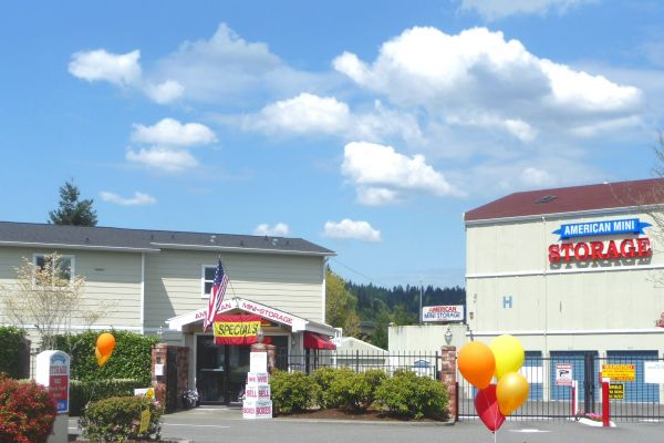Self Storage Units At American Mini Storage Redmond Wa