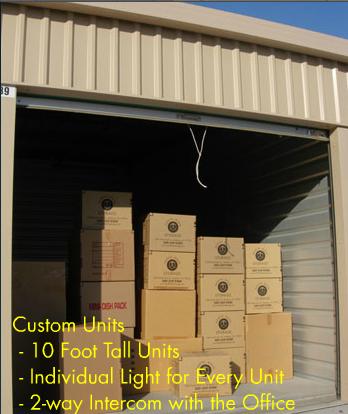 Self Storage Units At Mini Safe Storage In San Leandro Ca